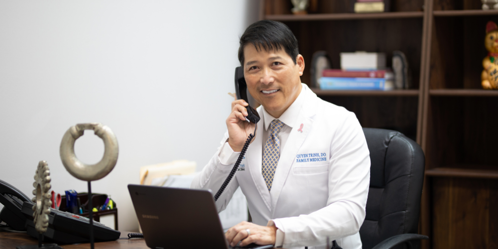 Dr. Trinh homepage - Katy TX Mason Park Medical Clinic