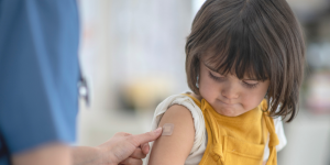 Child getting immunized - Mason Park Medical Clinic Katy TX