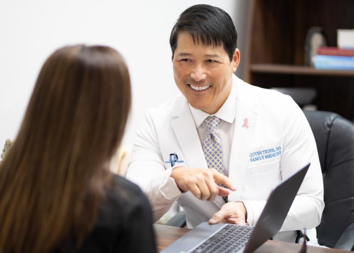Mason Park Dr. Trinh Consultation