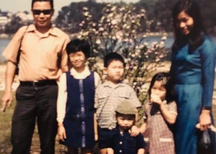 Trinh family in Vietnam